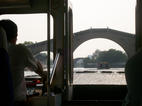 River ride in Suzhou.