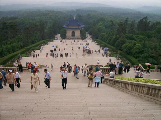 Dr. Sun Yat-sen's Mausoleum.