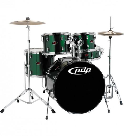 PDP Z5 5 piece drum set in Emerald