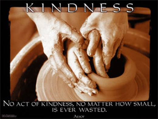 "There is no such thing as a ""small"" act of kindness!"