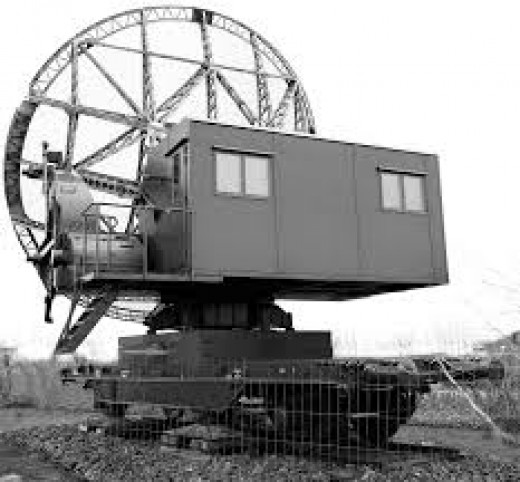 The Wurzburg radar system, of interest to British Intelligence and the target of the Bruneval commando raid