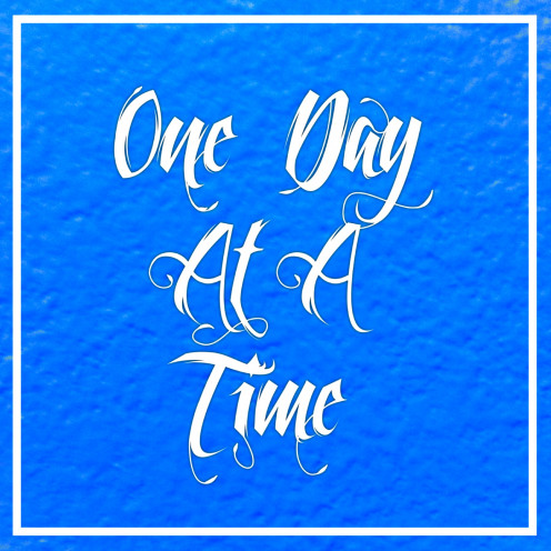 One day at a time - Greeting Cards