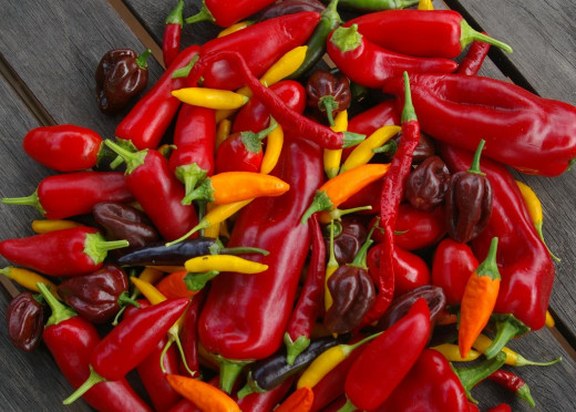 A Mix Of Chilli's