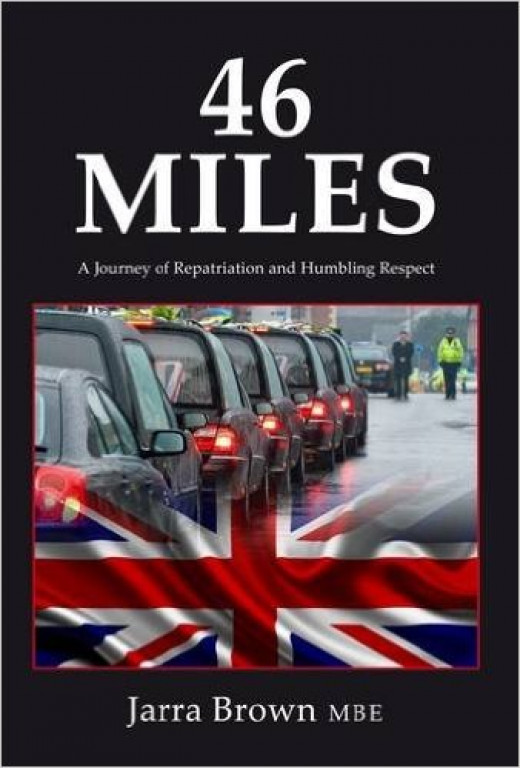 Jarra Brown's book '46 Miles' pays tribute to those killed in active service for their country