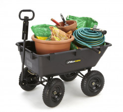 Gorilla Dump Cart Review: A Smart Alternative to a Wheelbarrow