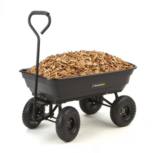 The GOR200B is a lighter-weight cart, but still very effective.
