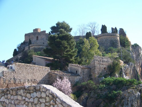 San Jose (Saint Joseph) Castle, Guadalest.