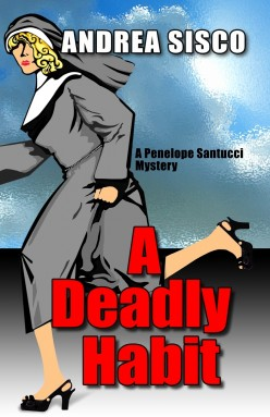 A Deadly Habit, cover art. Copyright 2009, Andrea J. Sisco. Publisher: Five Star ME.