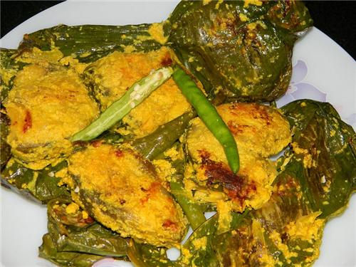 Fish curry cooked in Poppy seeds and Mustard Oil