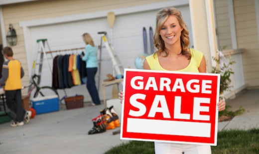 Sell off all your unwanted stuff before your move with a garage sale!