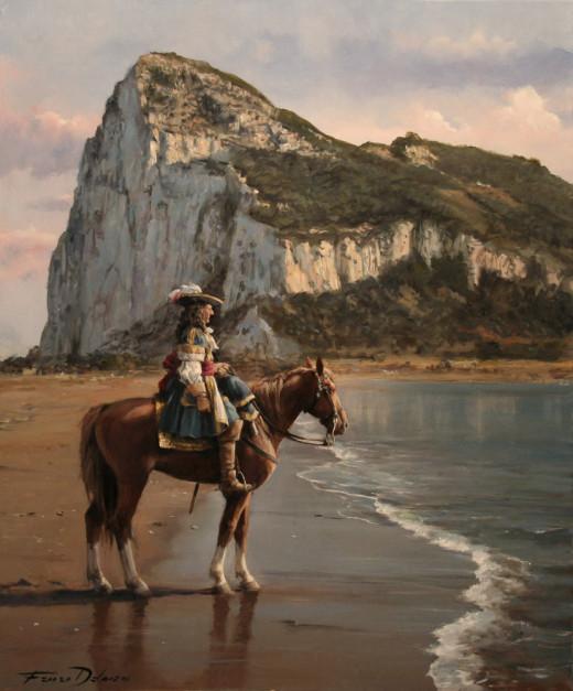 El ultimo de Gibraltar by Augusto Ferrer Dalmau