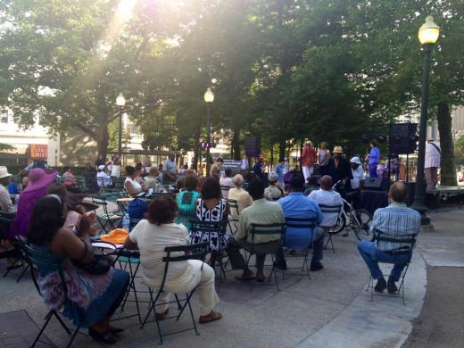 Summer Concert Grand Circuit Park Detroit Hotspot