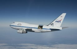 Uhura, NASA Airborne Astronomy Ambassador, Flies In Real Space and Recruits Astronauts