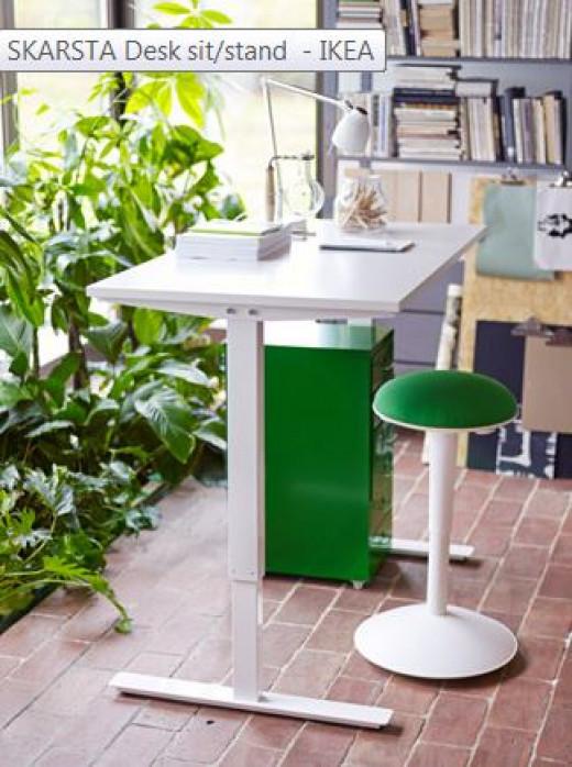 Skarsta Adjustable Desk
