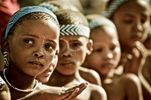 Read more about the San people here -