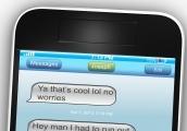 Everyday grammar on cell phone