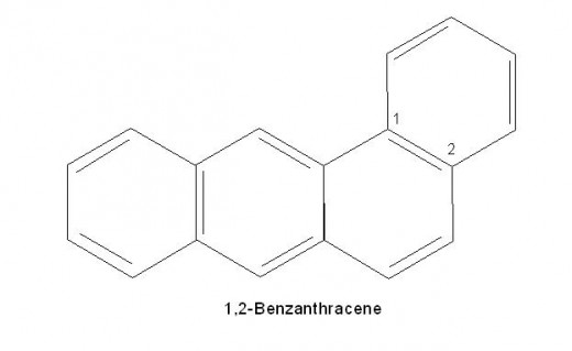 Watch carefully how numbering is done in poly nuclear benzenoids