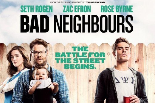 Movie poster for Bad Neighbours