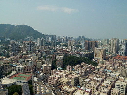 Shenzhen City, South China