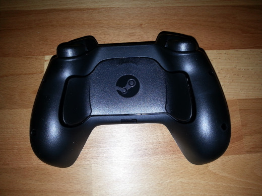 Rear of the Steam Controller