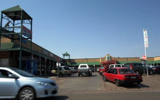 Shopping Centre in Kuruman, Northern Cape, South Africa © Martie Coetser