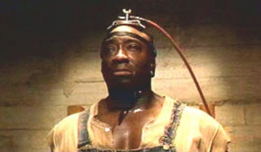 We will miss you John Coffey. Also the actor died in 2012.
