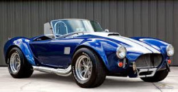 The AC Cobra, wasn't she pretty?