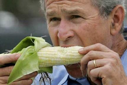 President Bush, #1 food panderer