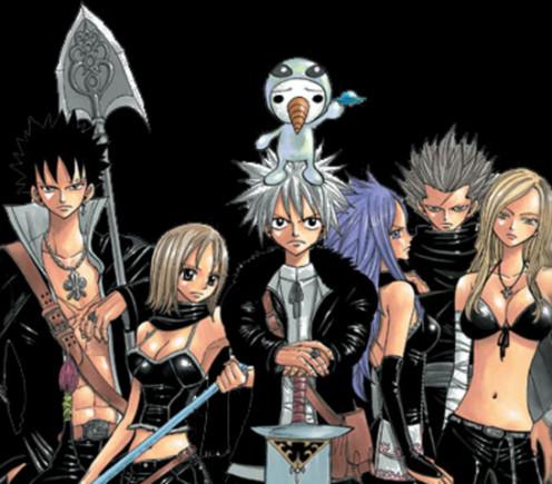 Rave Master manga