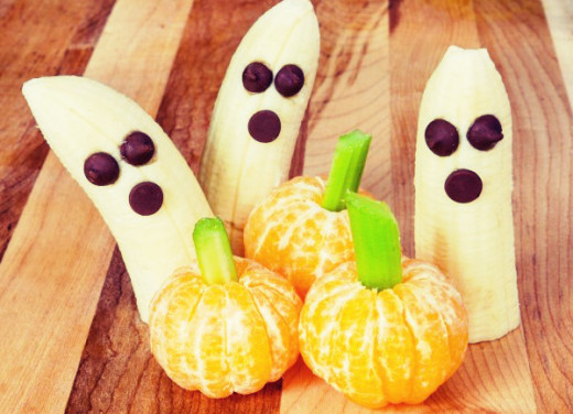 Ghost Fruit look really cute!