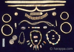 Ethnic and authentic jewelery of India