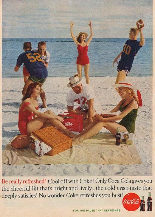 Coca Cola Ad, c.1960s