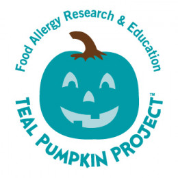 The TEAL PUMPKIN PROJECT and the Teal Pumpkin Image are trademarks of Food Allergy Research & Education (FARE)