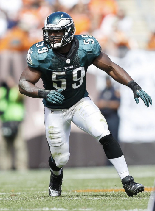Philadelphia Eagles LB DeMeco Ryans