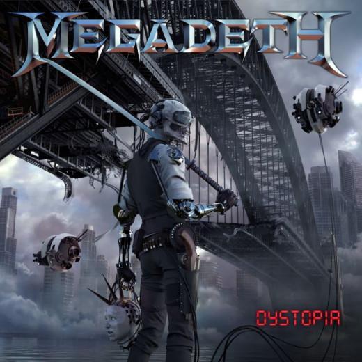 Megadeth's DYSTOPIA album cover