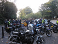 Motorcycling on a Mystery Tour in the UK