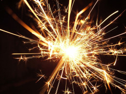 Sparklers along with the 'catherine wheel' were my favourite fireworks.
