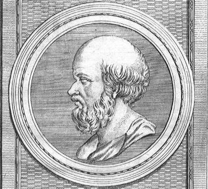 Eratosthenes was a Greek scientist who lived from 276-194 BC. He studied astronomy, geography, and math. He is famous for making the first good measurement of the size of the Earth.  Public domain image.