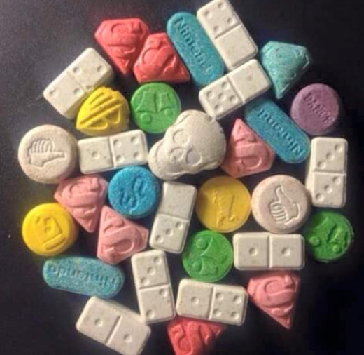 Ecstasy disguised as candy