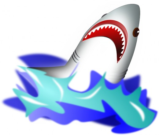 Shoreside Sharks Fan Shirt Logo