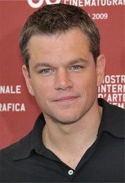 Matt Damon is Born Again