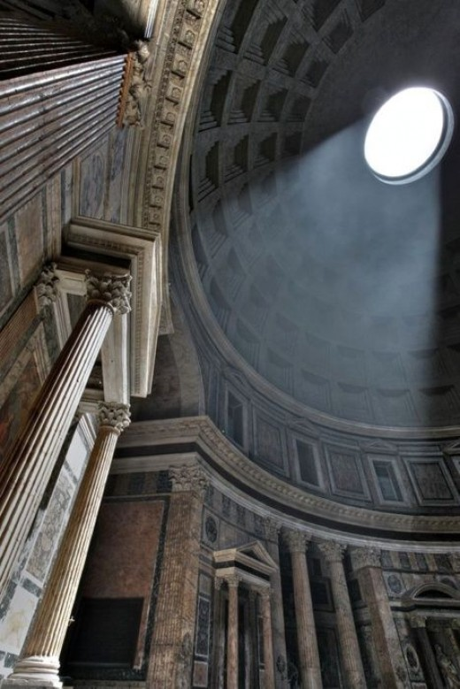 Places to Visit in Rome; Pantheon