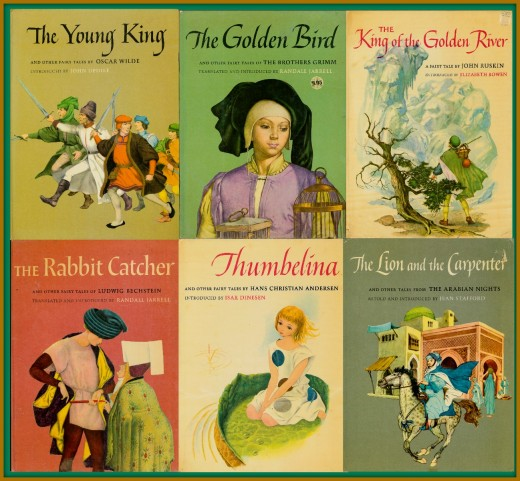 y Six of the greatest children's Fairy Tales, and books ever written The Rabbit Catcher, Bechstein. The King of the Golden River, John Ruskin. The Young King, Wilde. The Golden Bird, Grimm's. The Lion & the Carpenter, & Thumbelina, Andersen.