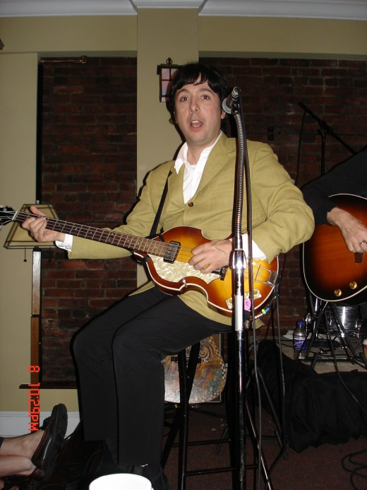 "...performing as ""Beatle Paul."""