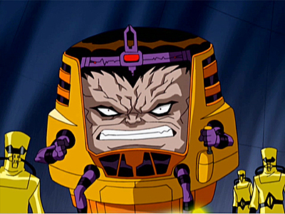 """"""" I am M.O.D.O.K, the Mental Organism Designed Only for Killing. I am your intellectual superior in every way. Attempting to outsmart, outwit, or outmaneuver me will only result in humiliating failure."""""""