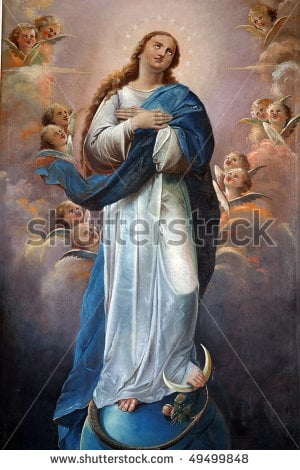 The Blessed Virgin, Mary