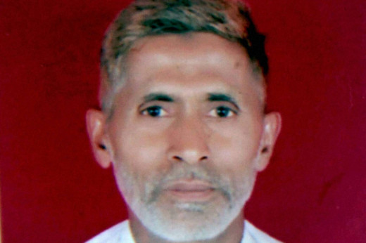 The 50 year old blacksmith Mohammad Akhlaq, who was brutally killed by an angry mob over speculations that he had consumed beef.