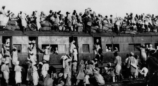 The partition of India in 1947 led to mass movement of Hindus from newly formed Pakistan to India and concurrent movement of Muslims form India to Pakistan. The movement was accompanied by large scale religious violence.