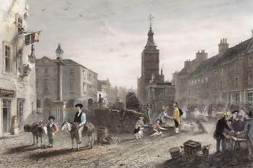 Market Place Dumfries