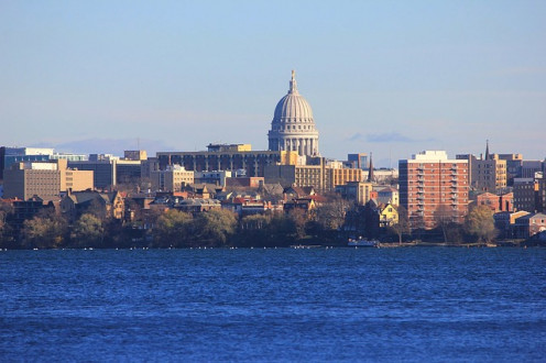 The Capitol at Madison, Wisconsin.